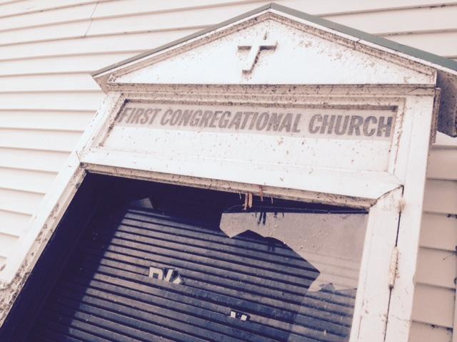 Portland church sign