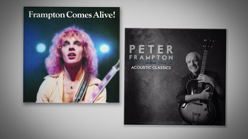 Peter Frampton album covers
