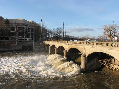 Hamilton Dam in Flint