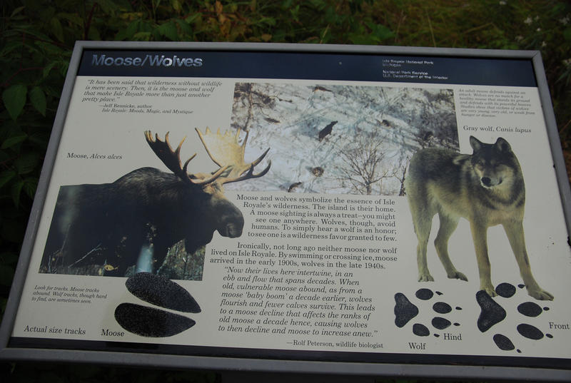 Isle Royale sign photo
