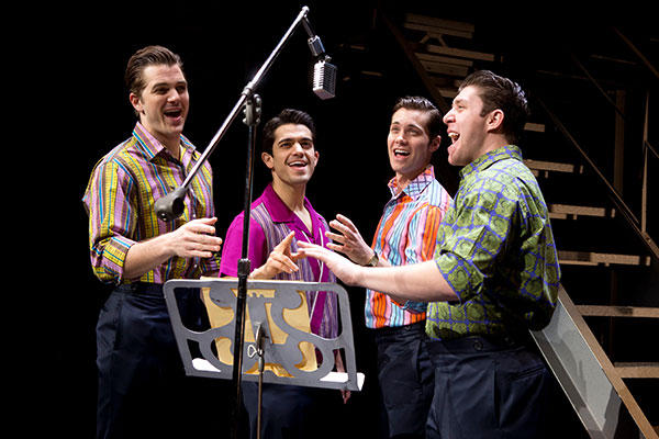 Jersey Boys cast photo