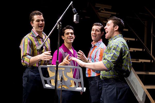 Jersey Boys cast photo