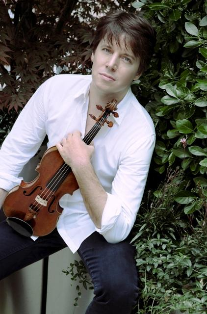 Violinist Joshua Bell is the music director of the London-based Academy of St. Martin in the Fields.  He and the academy will perform at Michigan State University's Wharton Center this Saturday.