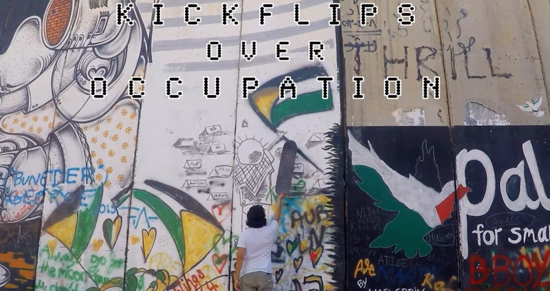Kickflips Over Occupation image