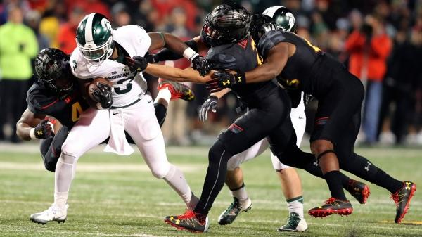 LJ Scott vs Maryland photo