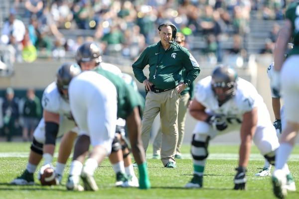 Mark Dantonio photo spring football game