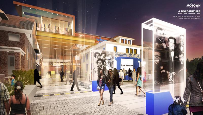 Motown Museum rendering image