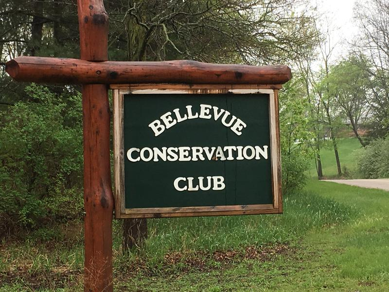 Bellevue Conservation Club sign photo