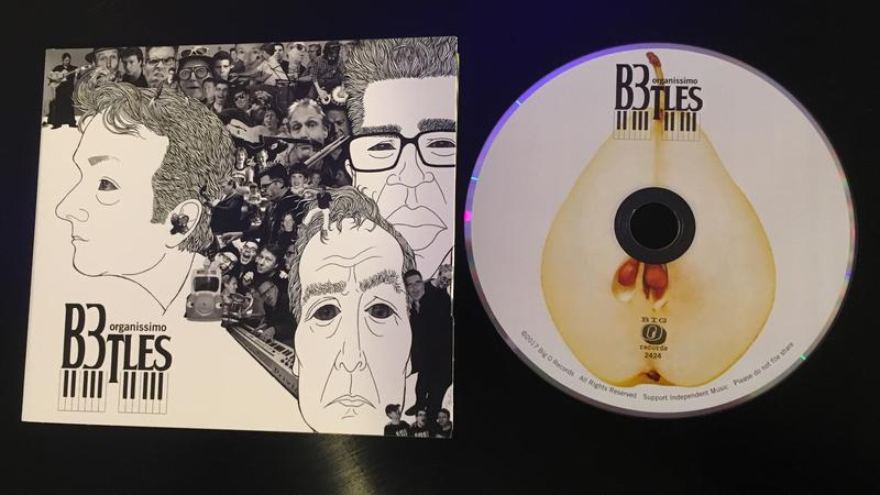 Organissimo B3tles CD cover art