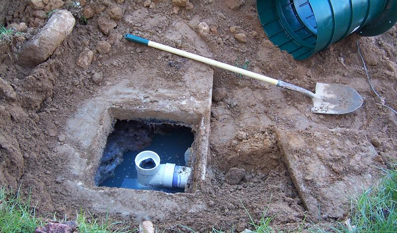 Septic system photo