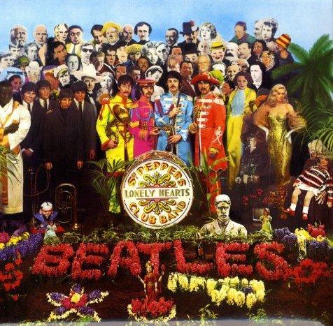 Sgt. Pepper album cover artwork