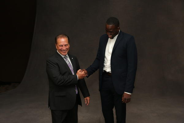 Tom Izzo and Draymond Green photo
