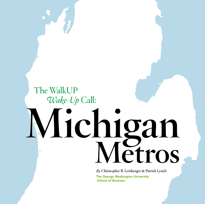 Michigan Metros report cover