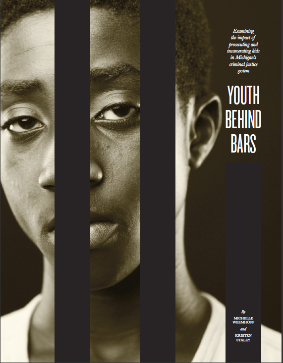Youth Behind Bars report cover image