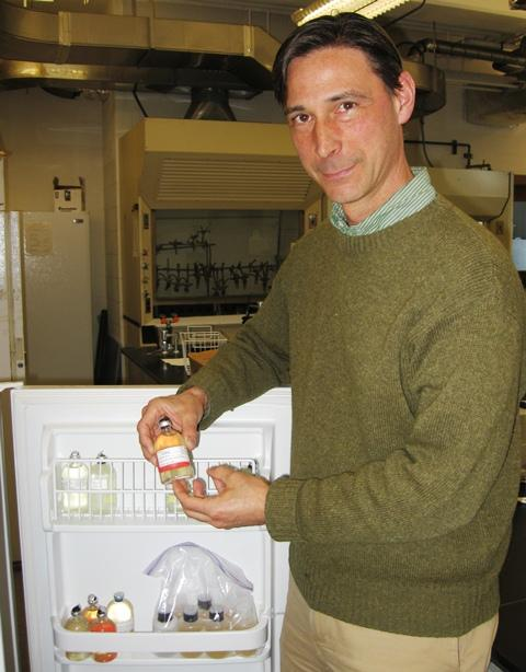 Dr. Nathaniel Ostrom is a professor of zoology at Michigan State University and a member of the Lake Vida research team, which found microorganisms living underneath the Antarctic ice.