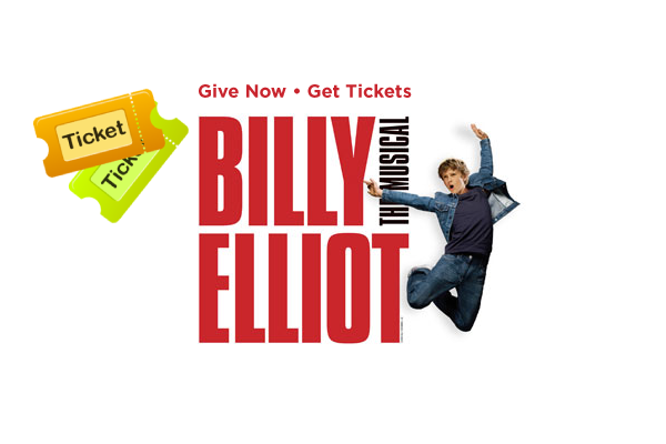 Give Now - Get Tickets. Billy Elliot The Musical