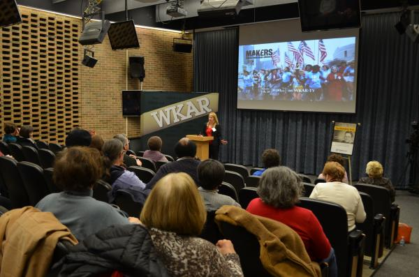 Our Evening at WKAR event featured Makers.