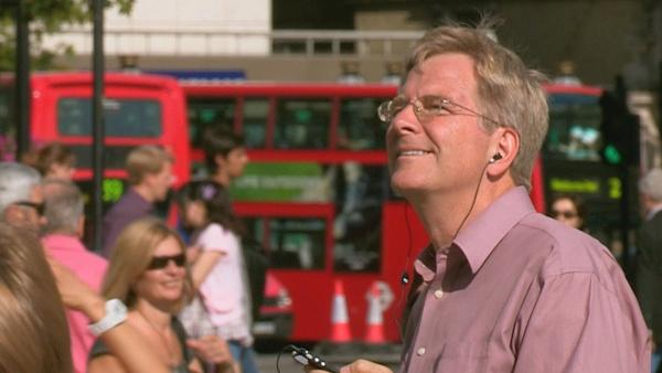 Rick Steves in London