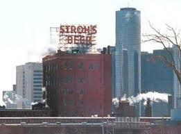 The Stroh's Brewery in Detroit was a landmark until it was shuttered 25 years ago this week.