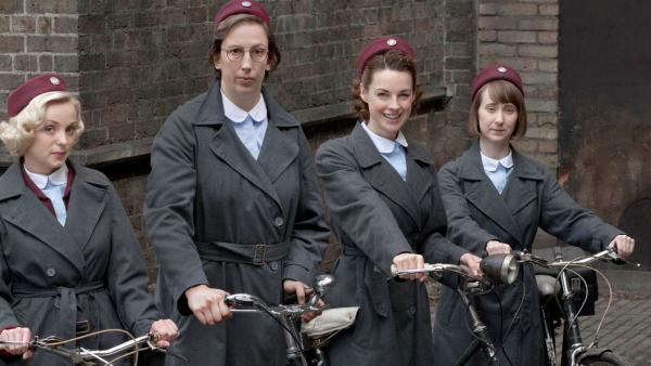 "The cast of ""Call the Midwife"""