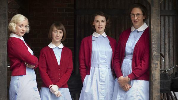 "The ""Call the Midwife"" cast."