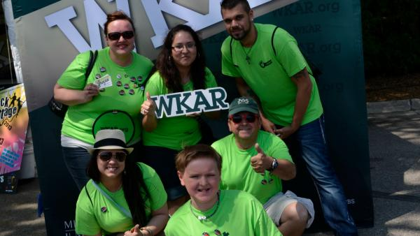 Members of the WKAR Street Team