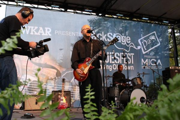 A scene from 20120 BluesFest. WKAR is recording again this year at 2013 BluesFest