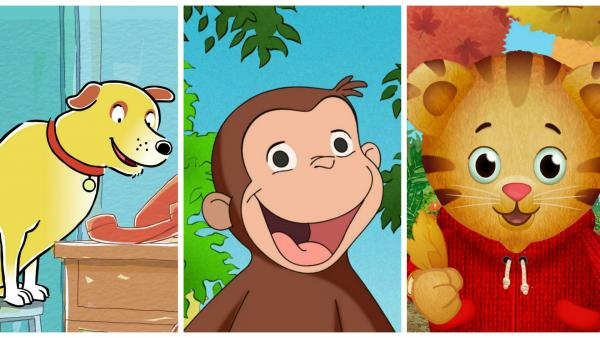 Martha, Curious George and Daniel Tiger are coming to town!