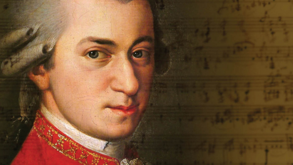 portrait of mozart