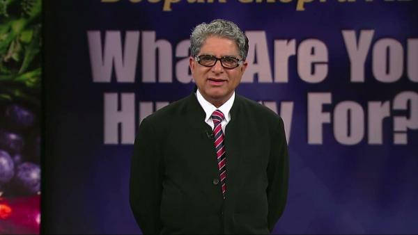 Deepak Chopra on stage