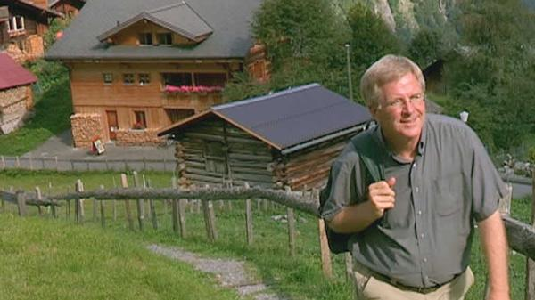 Rick Steves hiking mountain trail