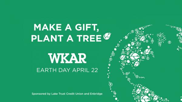 Make a Gift, Plant a Tree - Earth Day April 22