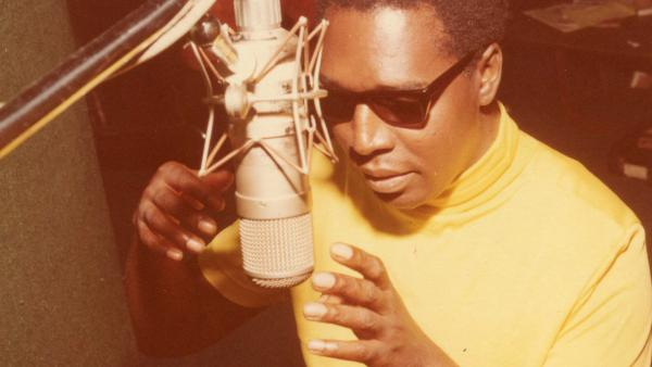 "Clarence Carter in ""Muscle Shoals."""
