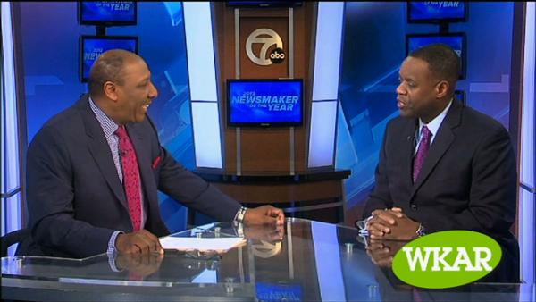 WXYZ Editorial and Public Affairs Director Chuck Stokes with Detroit Emergency Manager Kevyn Orr on a recent episode of 'Spotlight on the News'