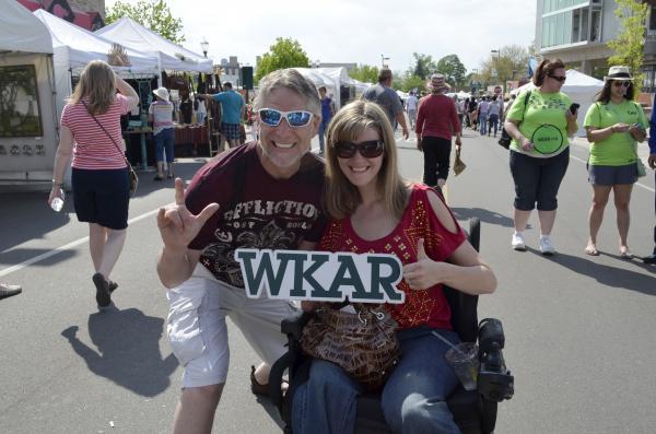 WKAR at East Lansing Art Festival