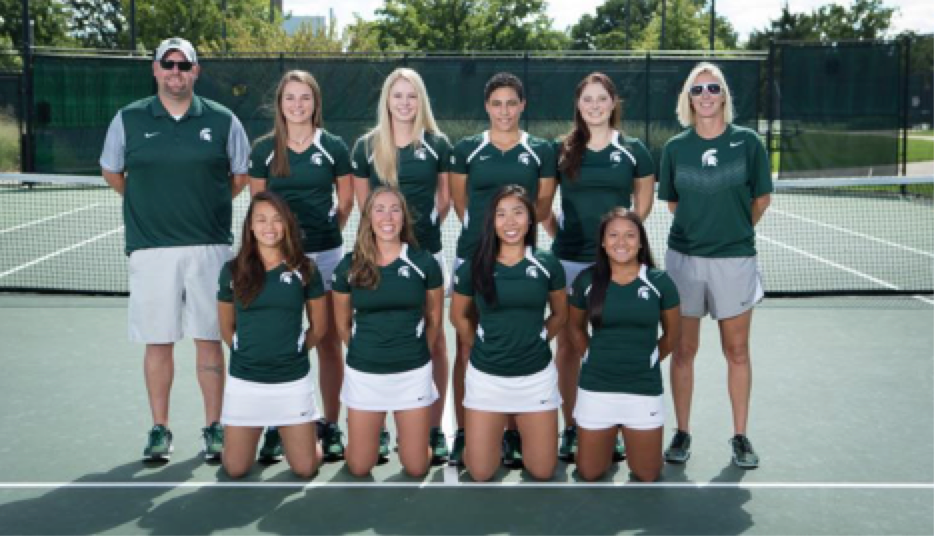 New women's tennis coach building team bonds and wins | WKAR