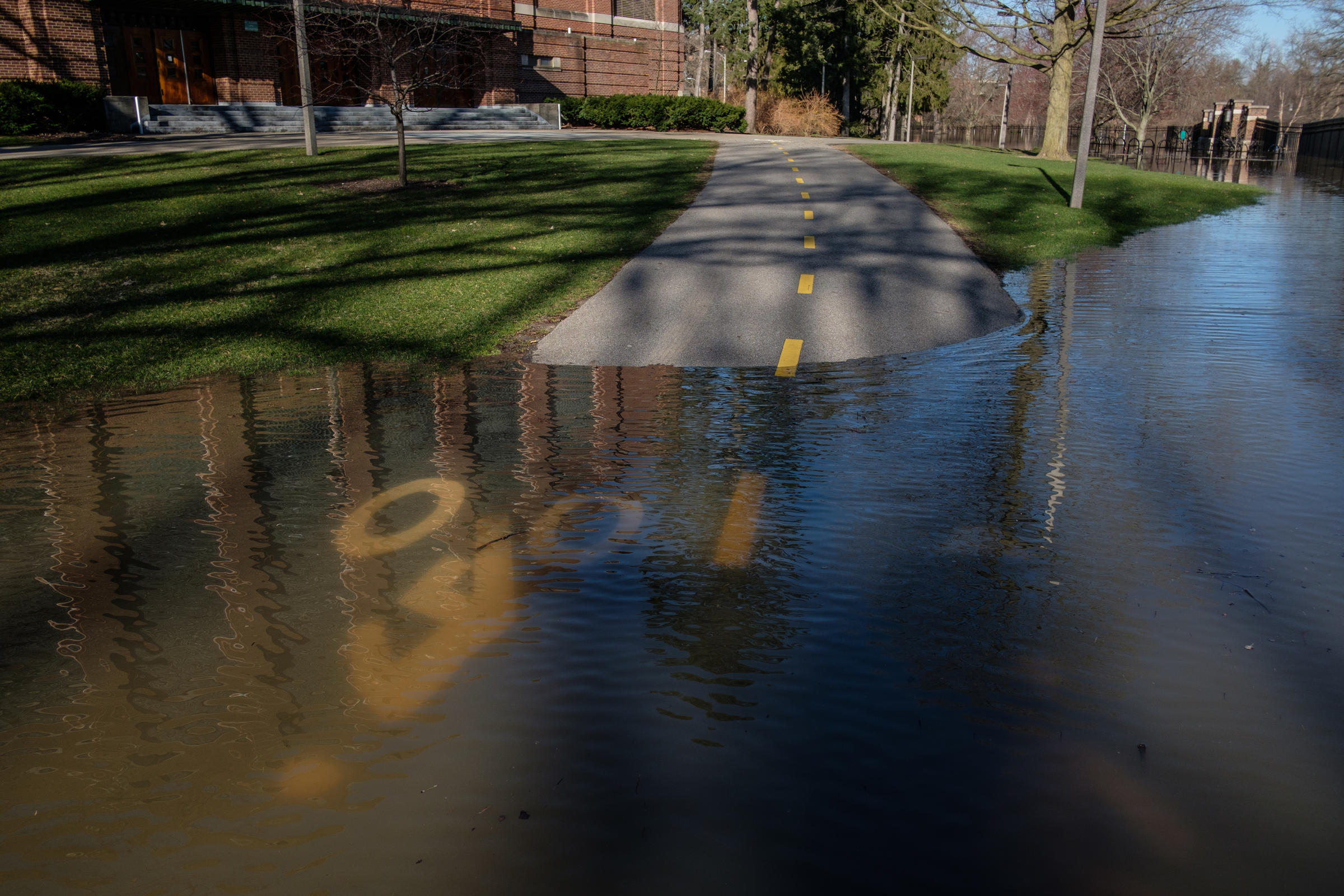 Flooding Closes Roads Around MSU & Lansing | WKAR