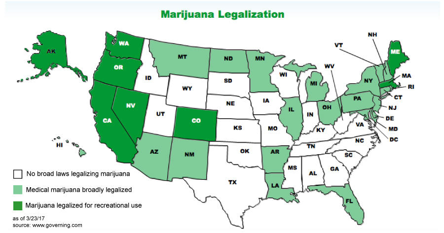 an in depth discussion of the decriminalization of marijuana in america The market is going through a period of robust growth because of increasing legalization and decriminalization of  marijuana market differ  discussion, which.