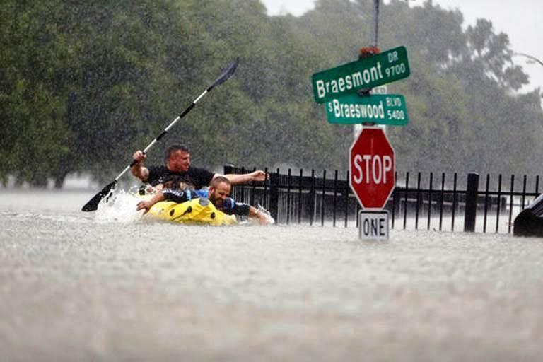 Harvey causes catastrophic floods in Texas