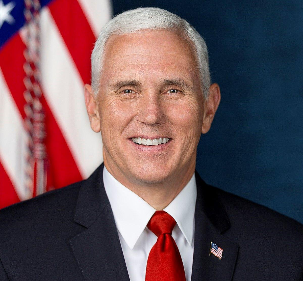 Mike Pence delivering graduation address at Hillsdale College