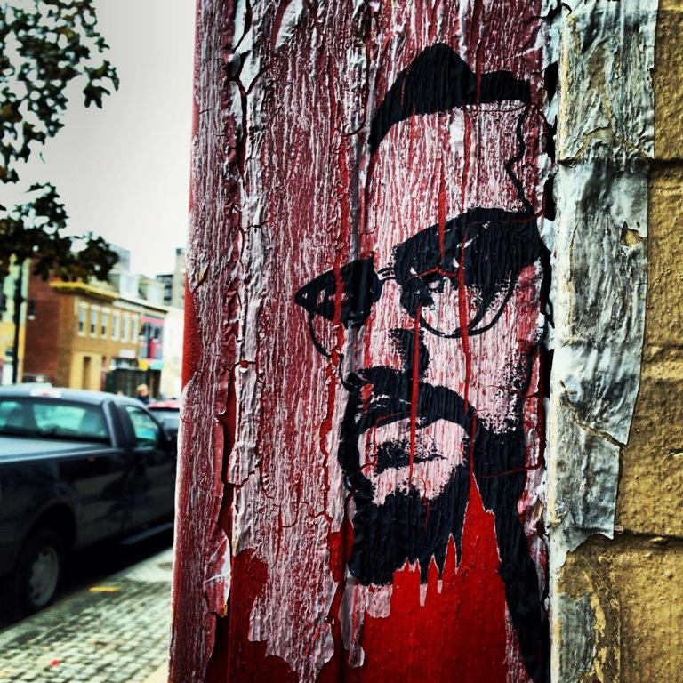 Kaleidoscope marks 50th anniversary of malcolm x for Malcolm x mural