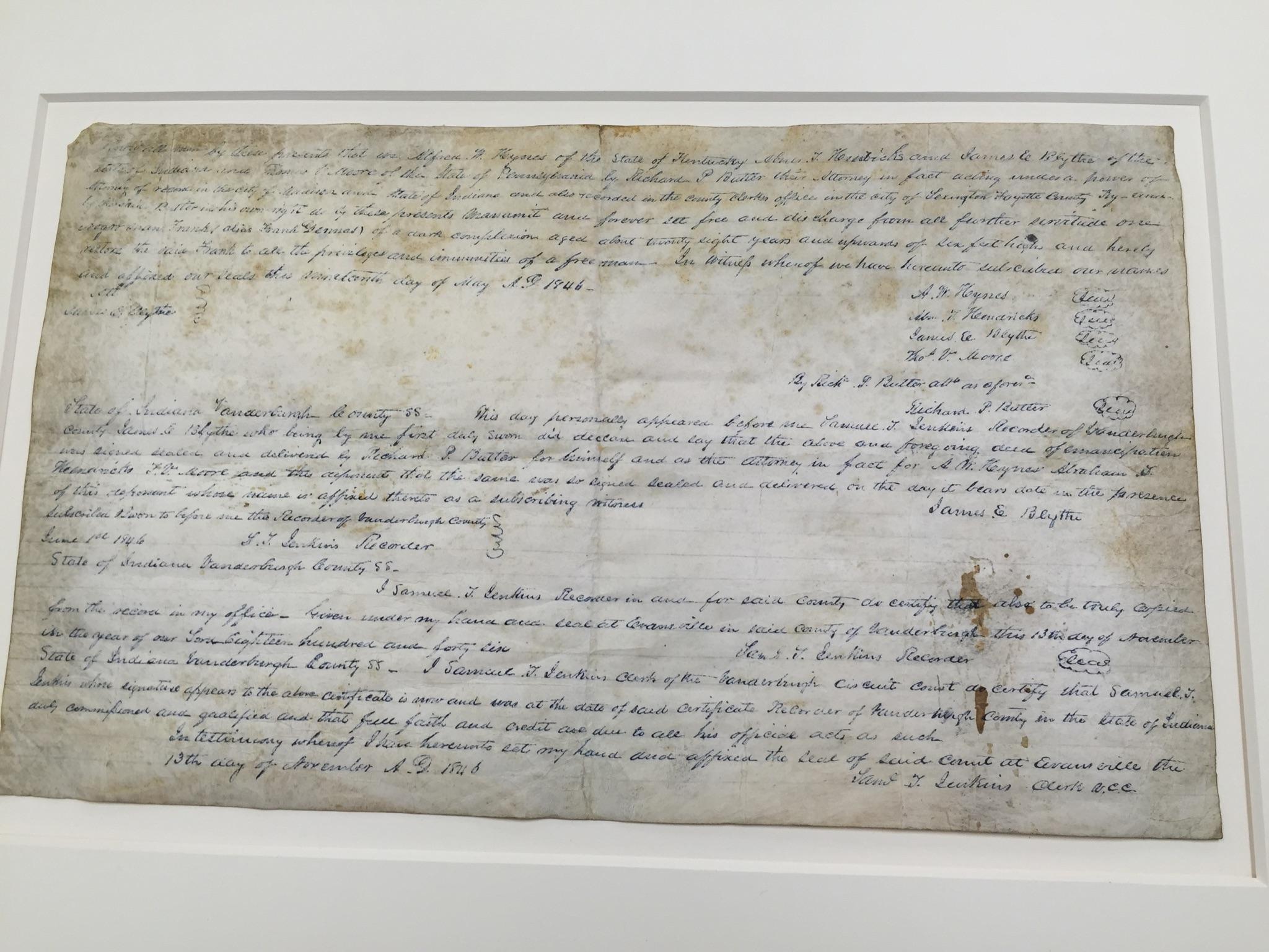Emancipation of slavery essay