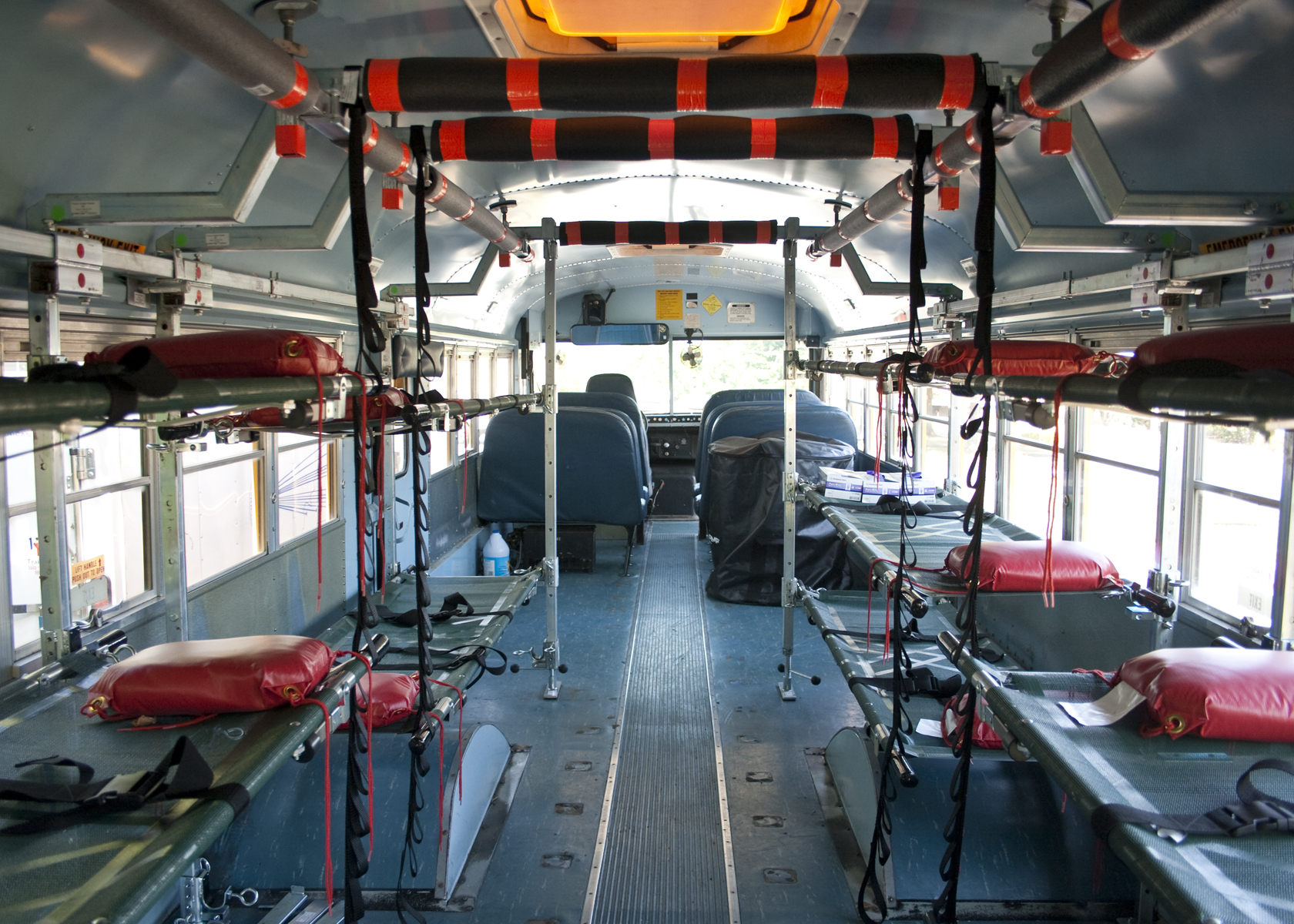 Marshall County School Bus Gets New Life As Emergency Vehicle