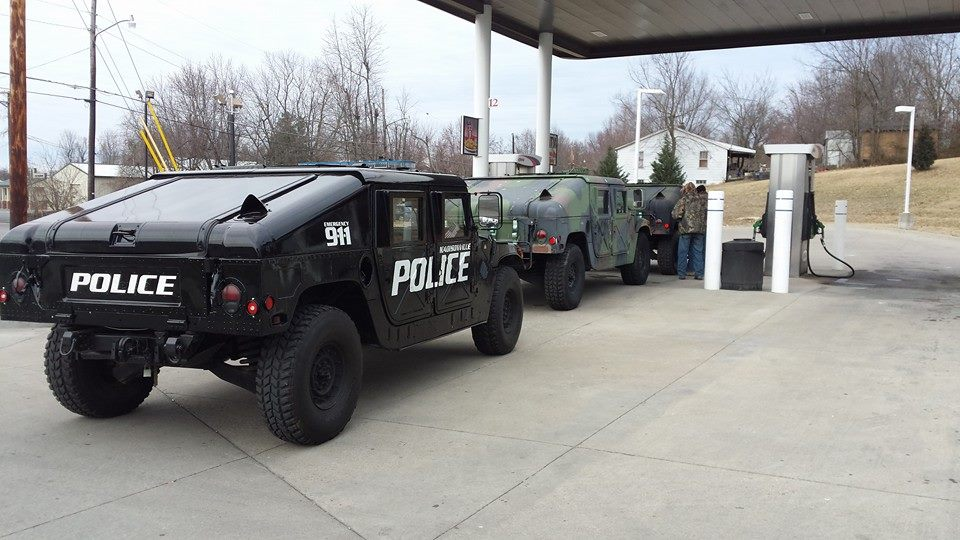 Surplus Military Vehicles Used For Emergency Response In