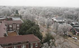 Images from the 2009 Ice Storm in Murray