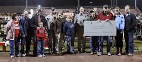 Calloway County School District was presented with the $10,000 grant at halftime of its home football game on Oct. 11.