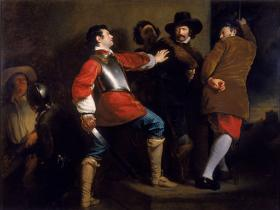 The Discovery of the Gunpowder Plot by Henry Perronet Briggs, 1823.