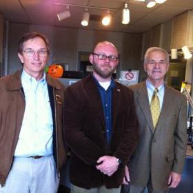 (l to r) Hal Kemp (D), Todd Hatton, Kenny Imes (R)