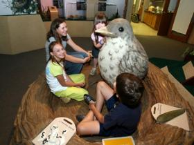 Kids in the John James Audubon Discovery Center