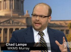 "WKMS News Director Chad Lampe on KET's ""Comment on Kentucky"" on April 12, 2013"